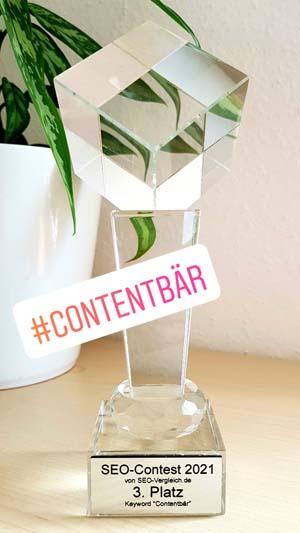 Contentbär Pokal