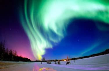 Polarlichter Kreuzfahrt