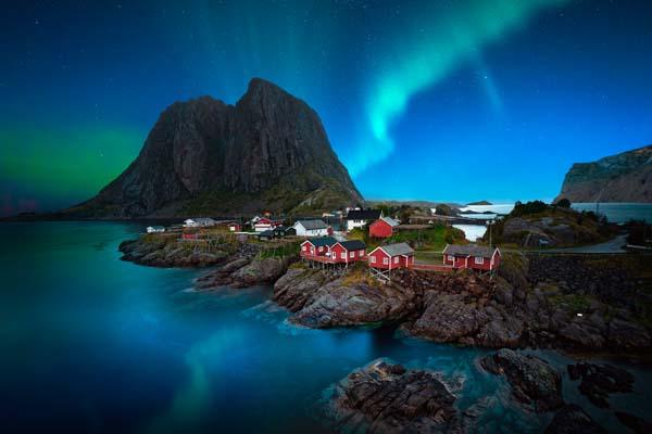 Nordlichter und Polarlichter Kreuzfahrt buchen